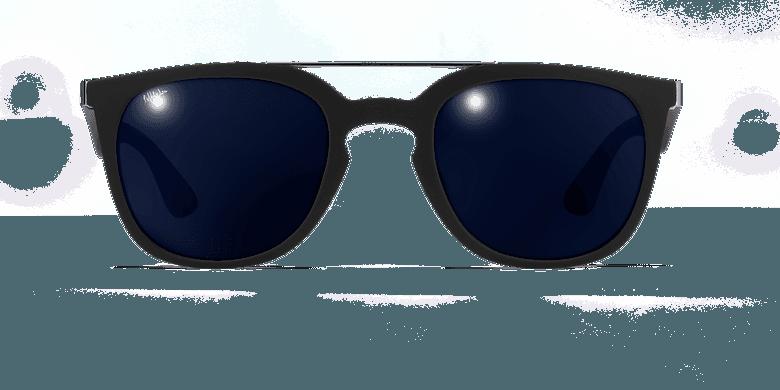 Gafas de sol hombre CAGLIARI POLARIZED negrovista de frente