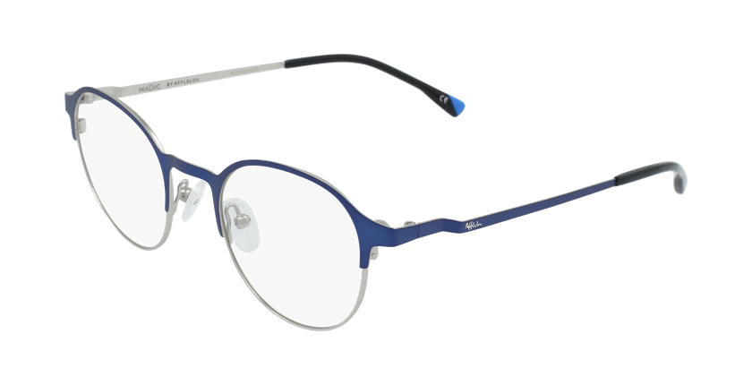 Gafas graduadas hombre MAGIC 53 BLUEBLOCK azul/gris - vue de 3/4