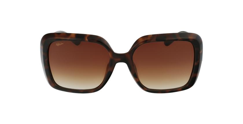 Gafas de sol mujer CASTALLA carey/rojo - vista de frente