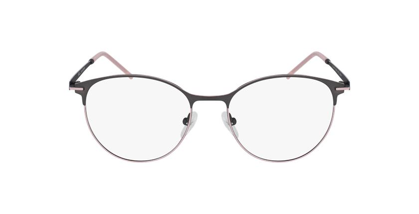 Gafas graduadas mujer MEROPE gris/rosa - vista de frente