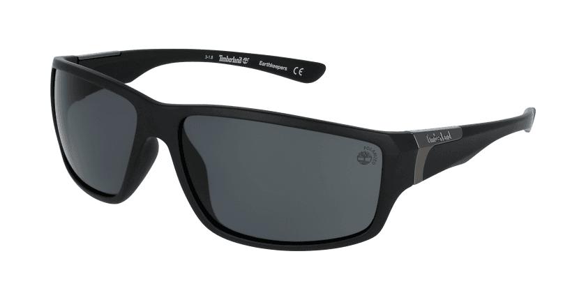 Gafas de sol hombre TB9068 negro - vue de 3/4