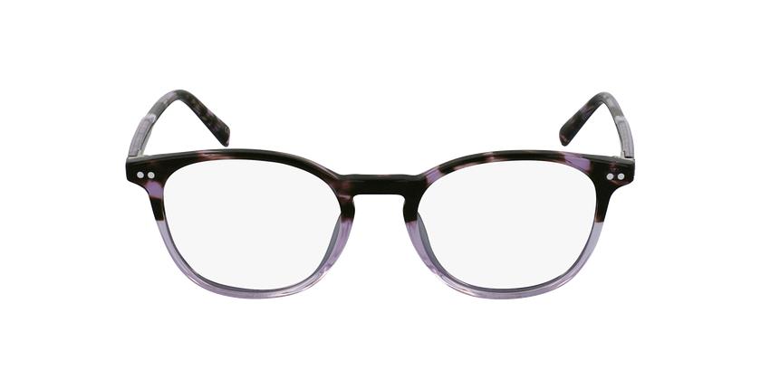 Gafas graduadas RAVEL morado - vista de frente