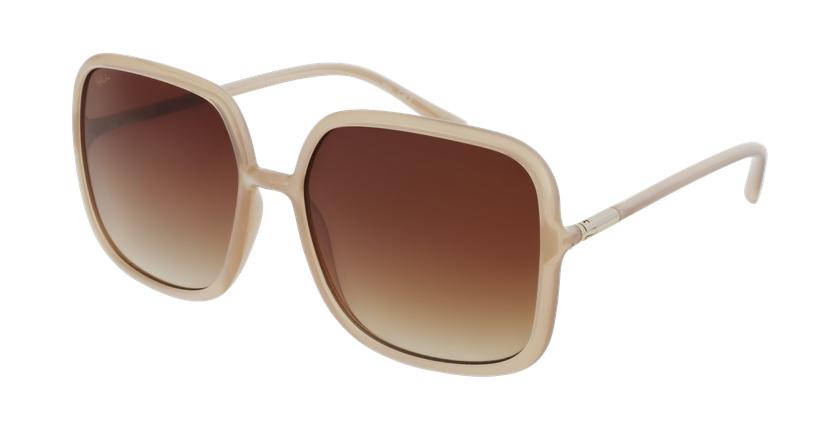 Gafas de sol mujer ESCANDELLA marrón - vue de 3/4