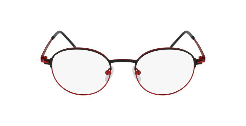 Gafas graduadas MARS negro/rojo - vista de frente