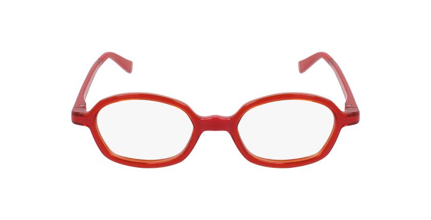 Gafas graduadas niños RFOM2 rojo/naranja - vista de frente