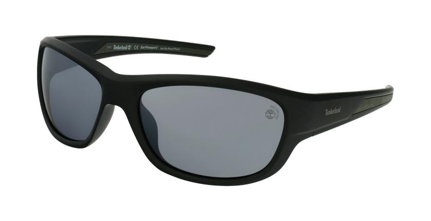 Gafas de sol hombre TB9247 negro - vue de 3/4