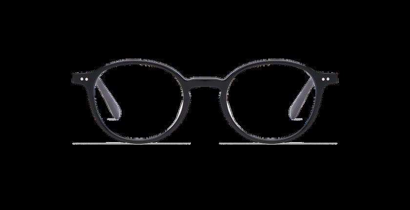 Gafas graduadas hombre RENAN negro - vista de frente