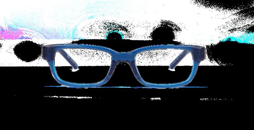 0af1522838922 ... Gafas graduadas niños ENZO azul - vista de frente ...