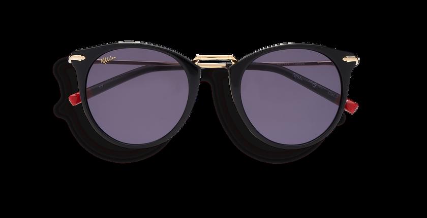 Gafas de sol mujer BARKLY negro - vista de frente