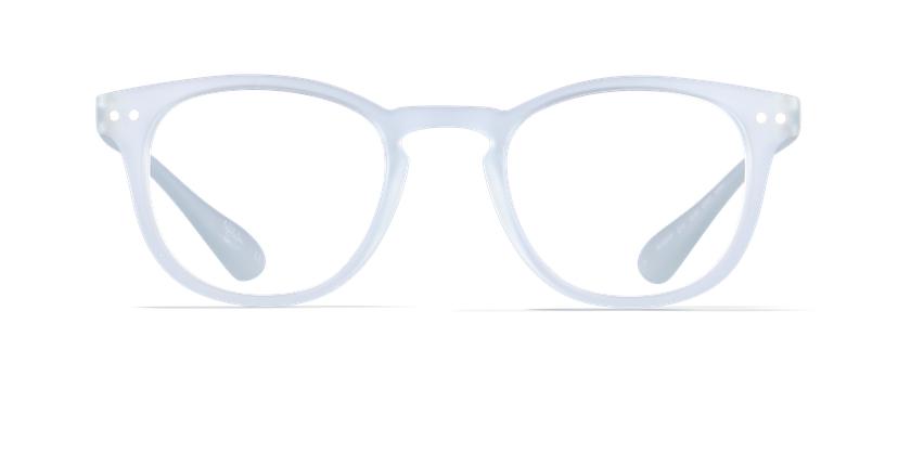 Gafas graduadas BLUE BLOCK UNISEX transparente - vista de frente