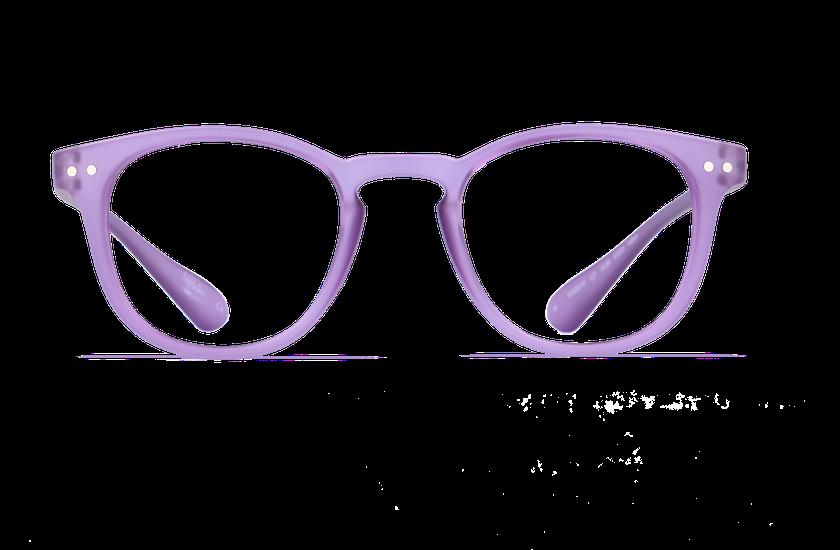Gafas graduadas BLUE BLOCK UNISEX morado - danio.store.product.image_view_face
