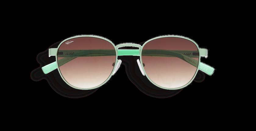 Gafas de sol mujer FRUTTI verde - vista de frente