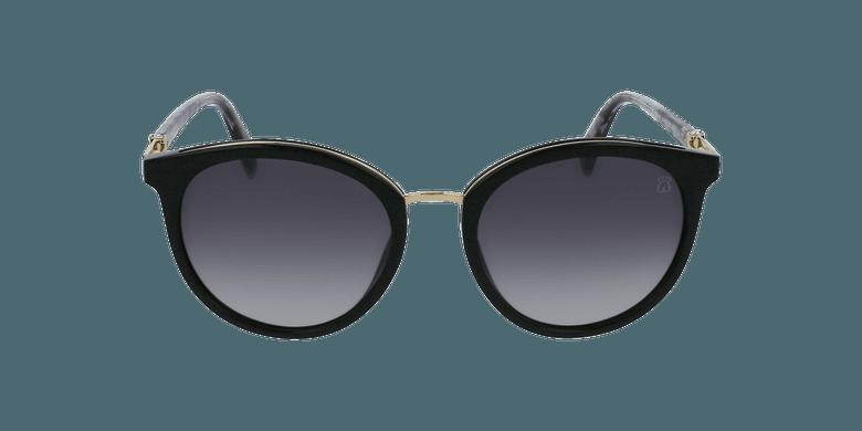 Gafas de sol mujer STOA29S negro/careyvista de frente