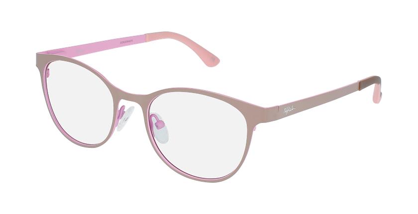 Gafas graduadas mujer MAGIC 45 BLUEBLOCK gris/rosa - vue de 3/4