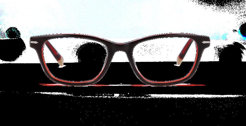 Gafas graduadas mujer BELGRAVIA rojo/rojo - vista de frente