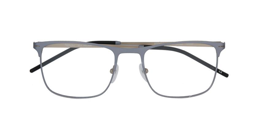 Gafas graduadas hombre HELIUM gris/dorado - vista de frente