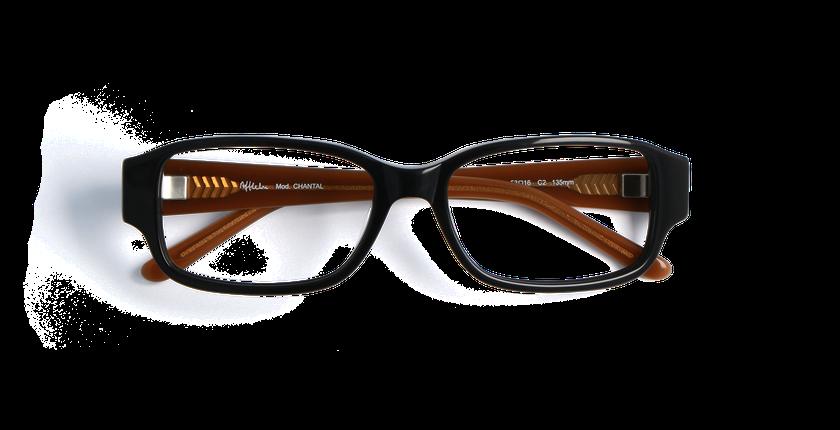 Gafas graduadas mujer CHANTAL negro/otros - vista de frente