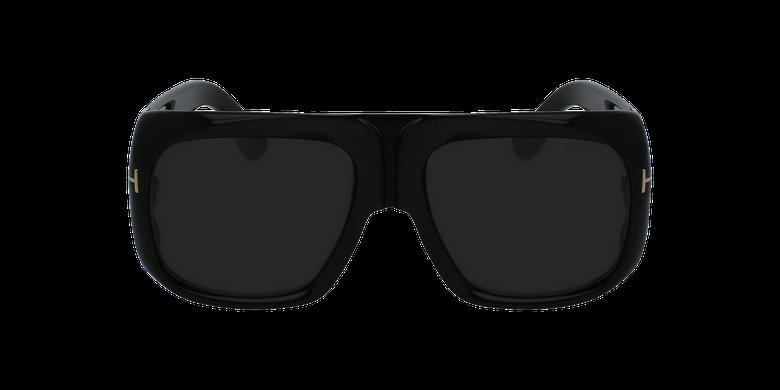 Gafas de sol hombre GINO negrovista de frente