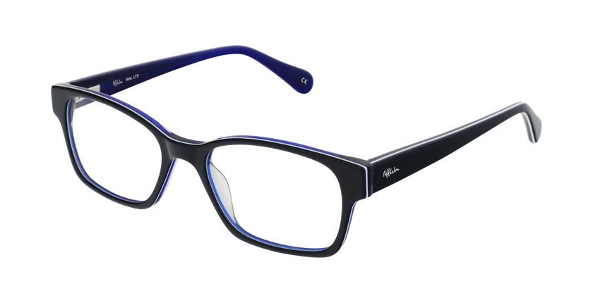 Gafas graduadas mujer LYS azul - vue de 3/4
