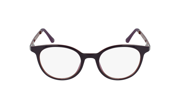 Gafas graduadas mujer MAGIC 36 BLUE BLOCK morado/rosa - vista de frente