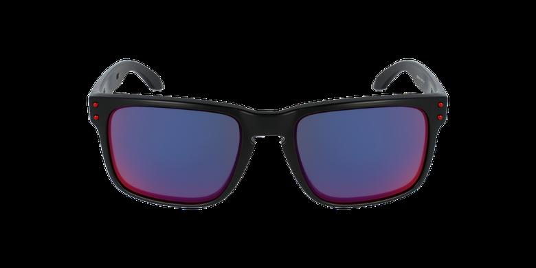 Gafas de sol hombre HOLBROOK rojo/negrovista de frente