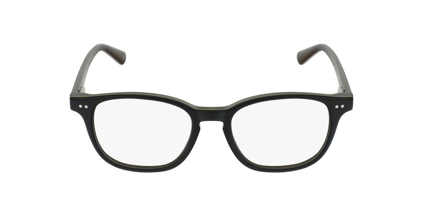 Gafas graduadas niños SANDRO negro/verde - vista de frente