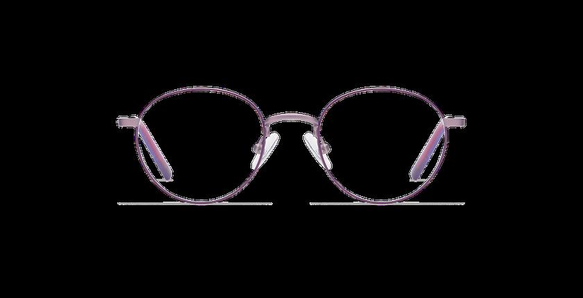 Gafas graduadas niños DOM morado/rosa - vista de frente
