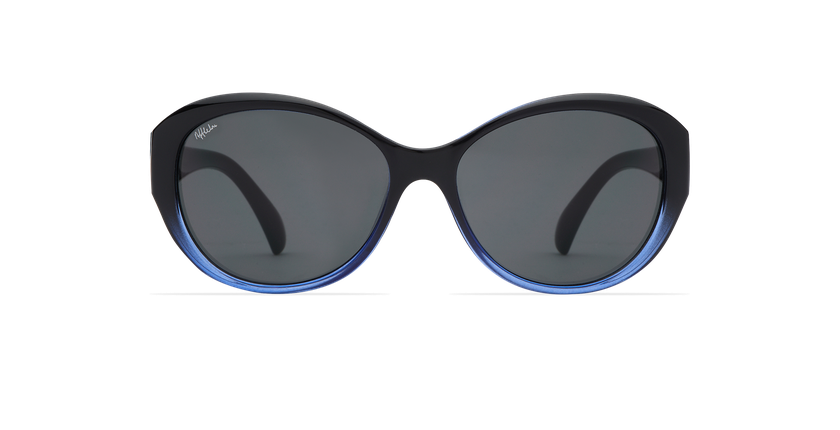 Gafas de sol mujer MARTINA negro/azul - vista de frente