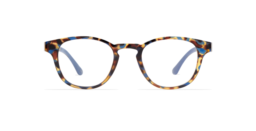 Gafas graduadas hombre MAGIC 03 carey/carey azul - vista de frente