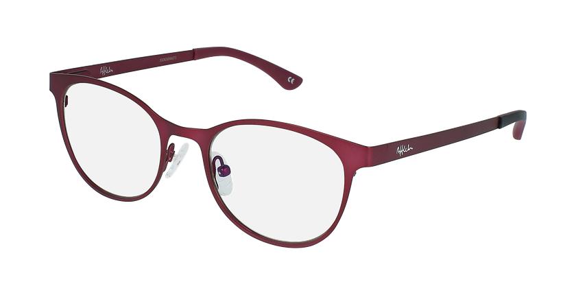 Gafas graduadas mujer MAGIC 45 BLUEBLOCK rojo/rosa - vue de 3/4
