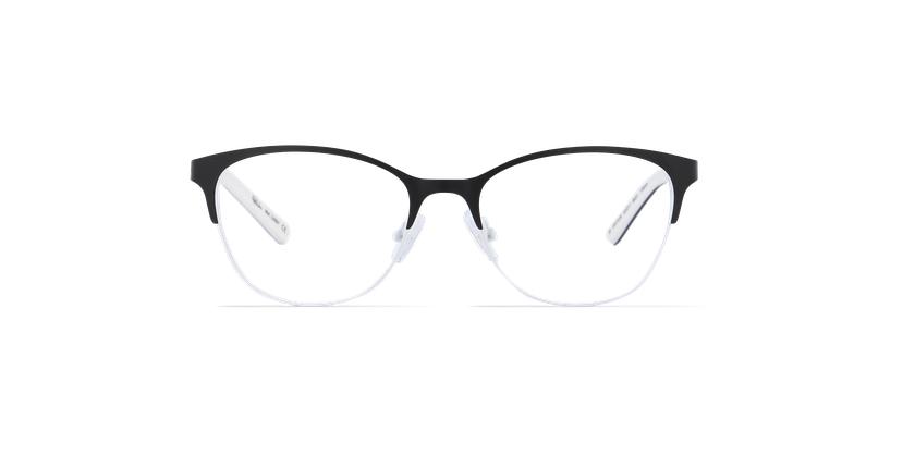 Gafas graduadas mujer CASSY negro - vista de frente