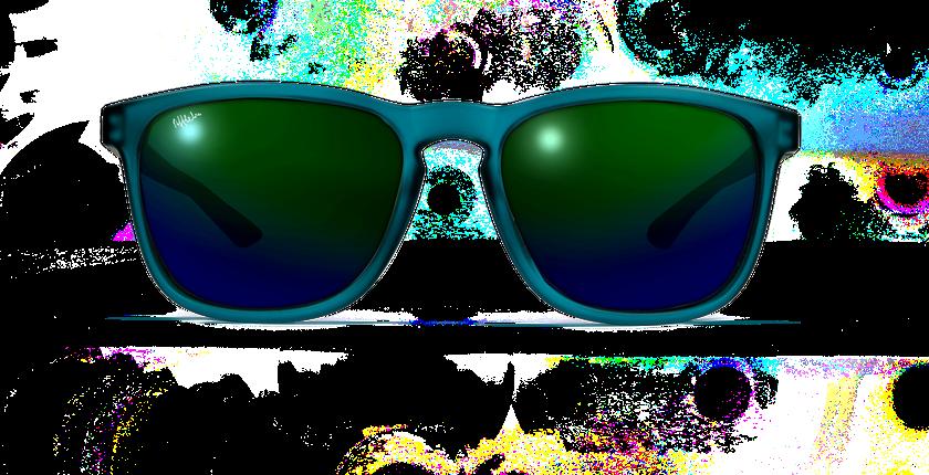 Gafas de sol JERRY POLARIZED verde - vista de frente