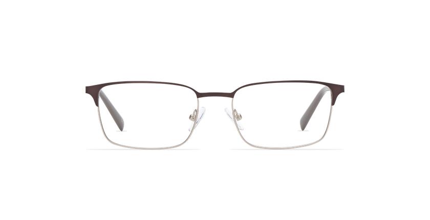 Gafas graduadas hombre ALPHONSE marrón/azul - vista de frente