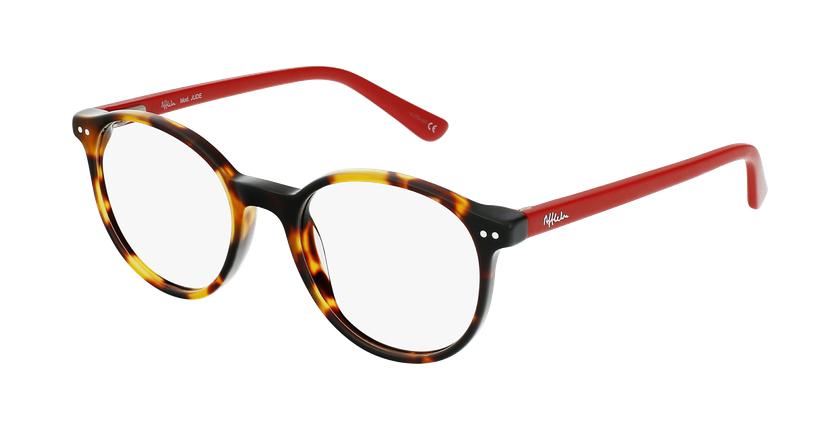 Gafas graduadas niños JUDE carey/rojo - vue de 3/4