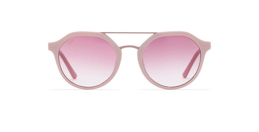 Gafas de sol mujer KYLIE rosa - vista de frente