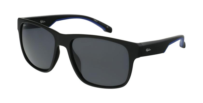 Gafas de sol hombre ADRI negro/azul - vue de 3/4