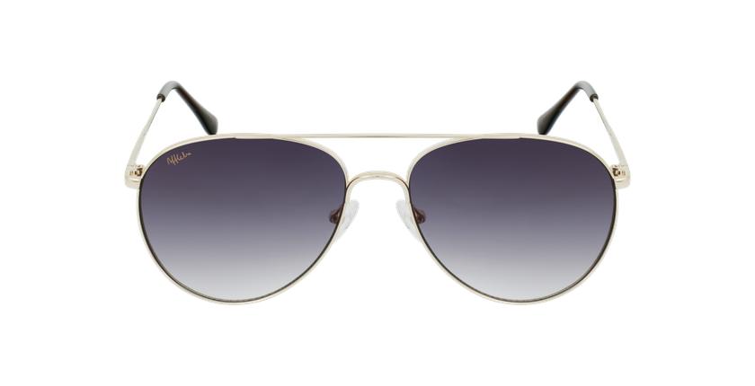 Gafas de sol MUSA dorado - vista de frente