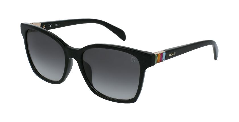 Gafas de sol mujer STOA52S negro/carey - vue de 3/4