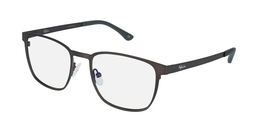Gafas graduadas hombre MAGIC 42 BLUEBLOCK gris - vue de 3/4