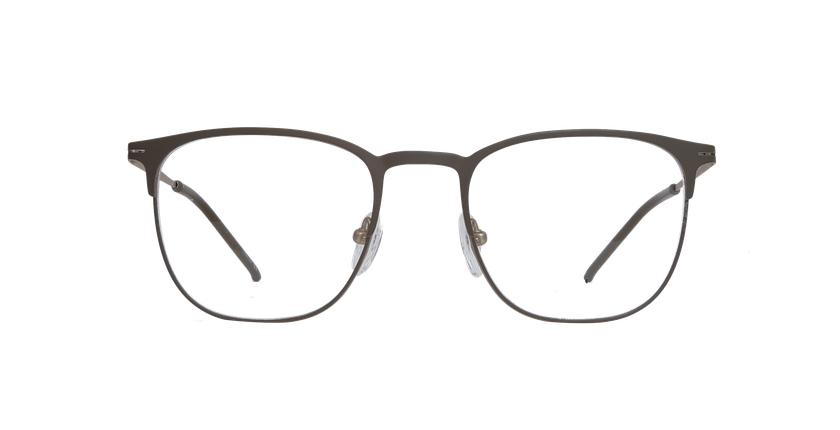 Gafas graduadas hombre ARGON marrón/dorado - vista de frente