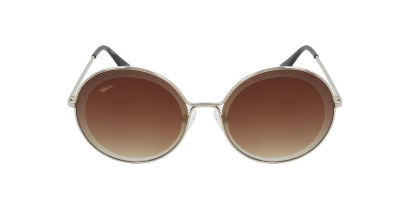 Gafas de sol mujer GIRONA dorado - vista de frente
