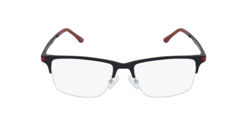Gafas graduadas hombre MAGIC 56 BLUEBLOCK negro/rojo - vista de frente