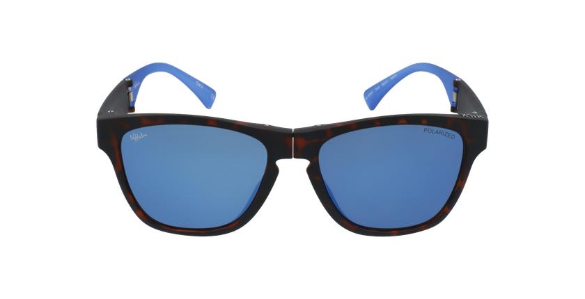 Gafas de sol hombre GEANT carey/azul - vista de frente