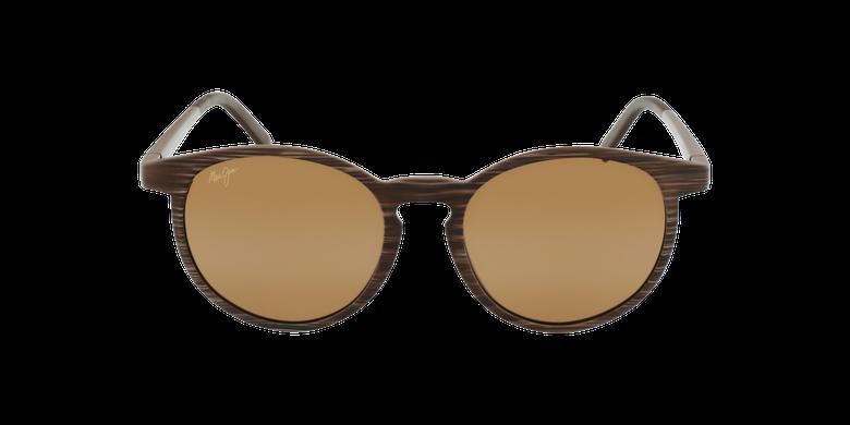 Gafas de sol Kiawe marrónvista de frente