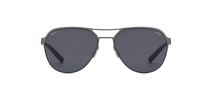 Gafas de sol hombre DAYTONA gris - vista de frente