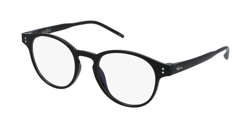 Gafas graduadas MAGIC 48 BLUEBLOCK negro - vue de 3/4