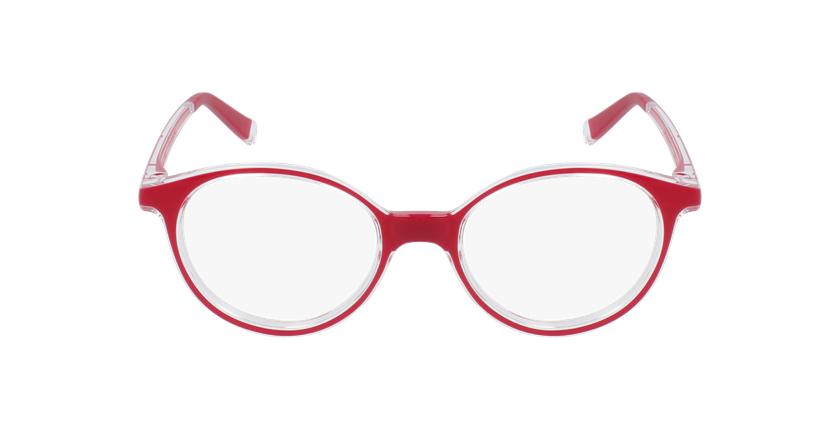Gafas graduadas niños RFOP2 rojo - vista de frente