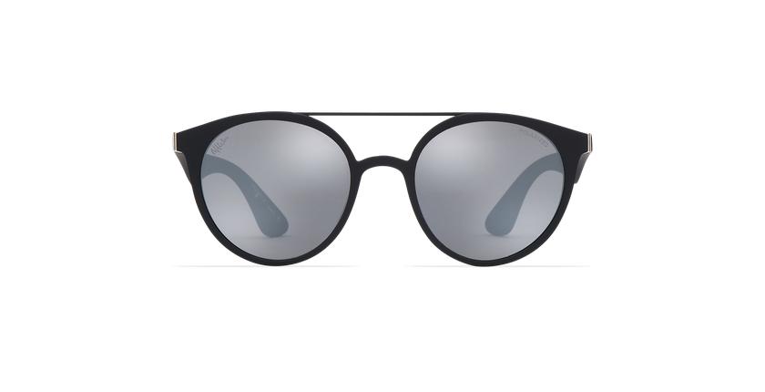 Gafas de sol hombre ANDRES POLARIZED negro - vista de frente
