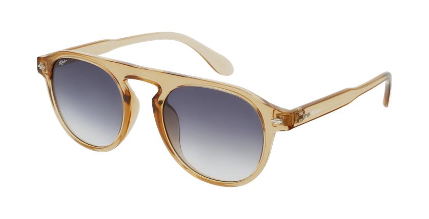Gafas de sol BEACH dorado - vue de 3/4