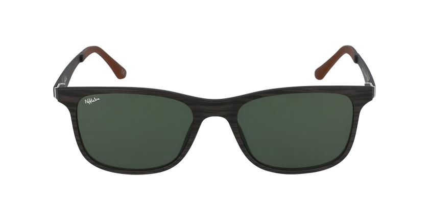 Gafas de sol hombre MAGIC 24 BLUE BLOCK marrón - vista de frente